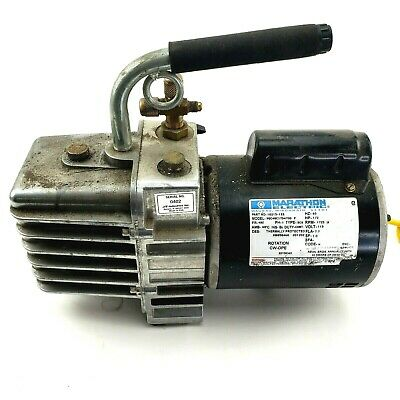 Jb Industries Marathon Electric Platinum Dv-142n 5 Cfm Vacuum Pump