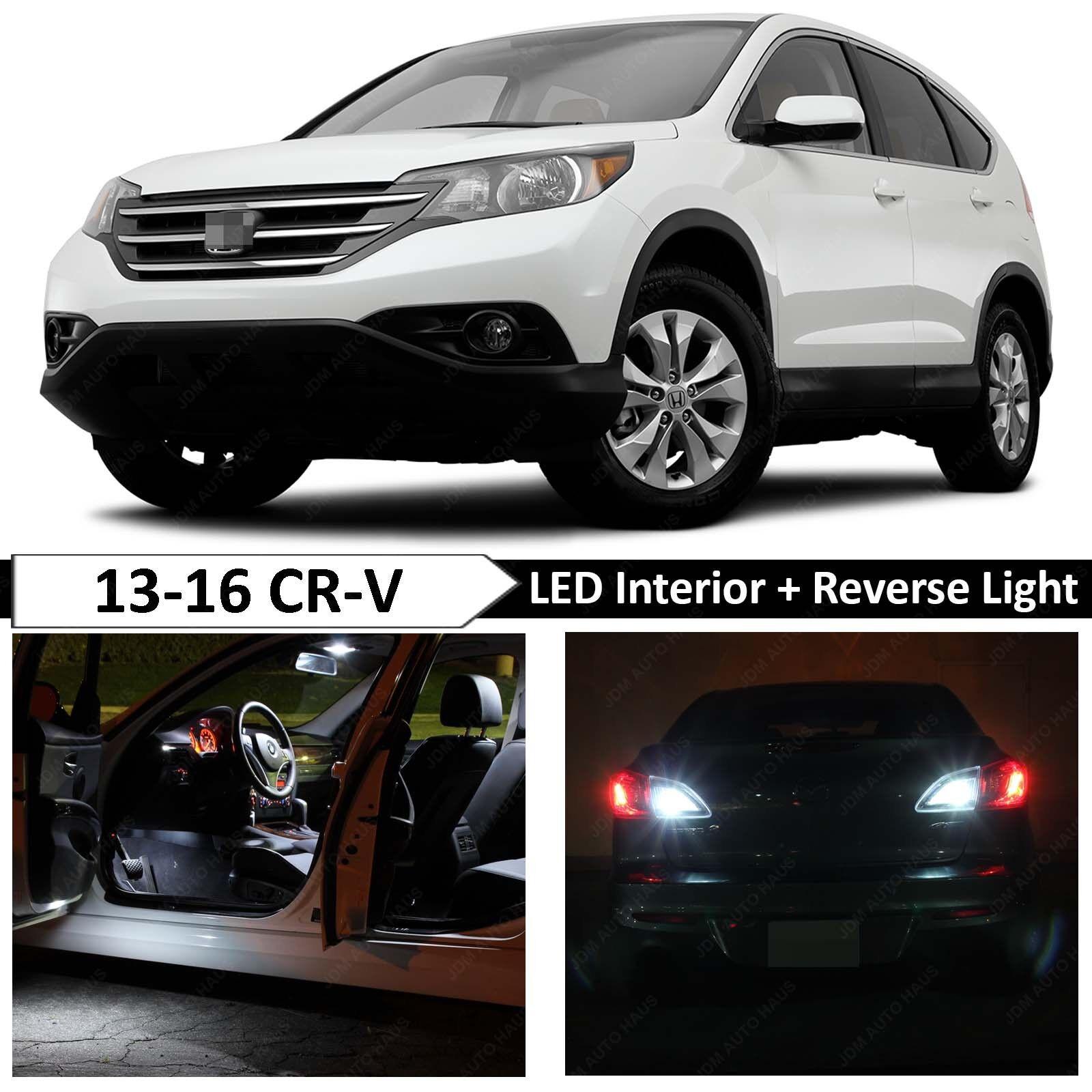 17x White Interior Reverse Backup LED Light Bulbs Fits 2014 2015 Honda Odyssey