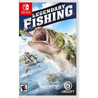 Legendary Fishing Switch [Brand New] - Fishing Fishing Games