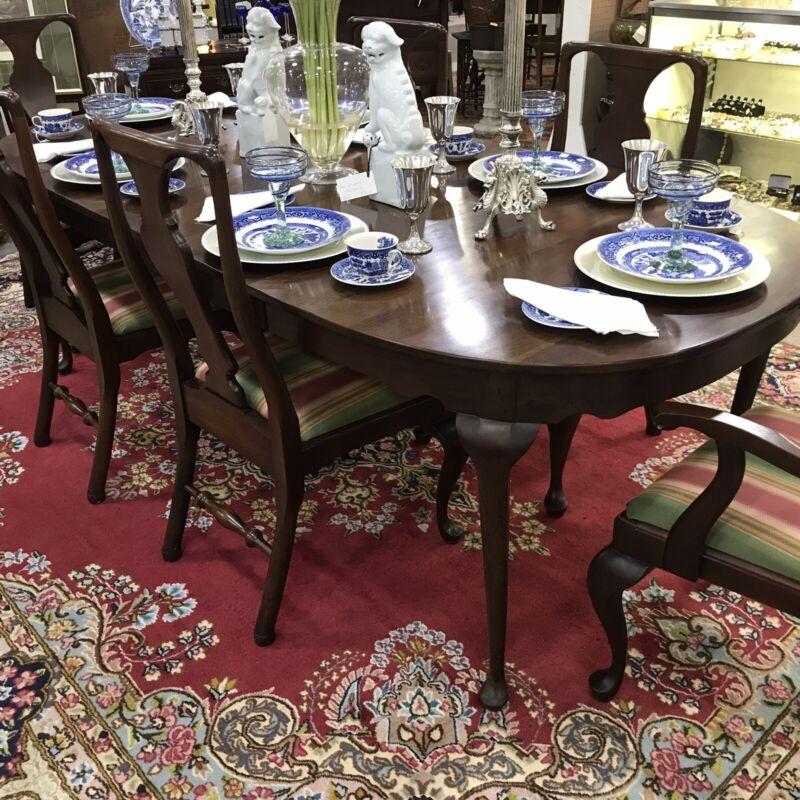 Craftique Mahogany dining table