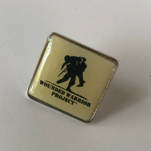Wounded Warrior Project Vintage Square Pin Metal