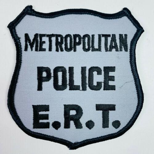 Metropolitan Police ERT Emergency Response Team Washington DC SWAT Patch