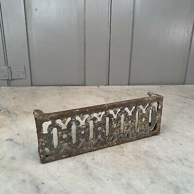 Antique Victorian reclaimed metal cast iron air brick
