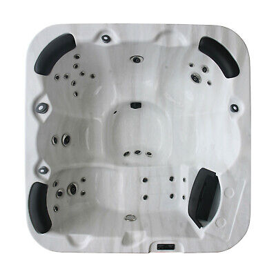 MILANO HOT TUB LUXURY SPA WHIRLPOOL-30 JETS-13AMP-6 Person-GECKO-RRP £5999