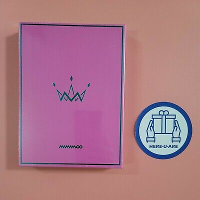 Mamamoo 5th mini purple album NEW Factory Sealed A version photo card all pack