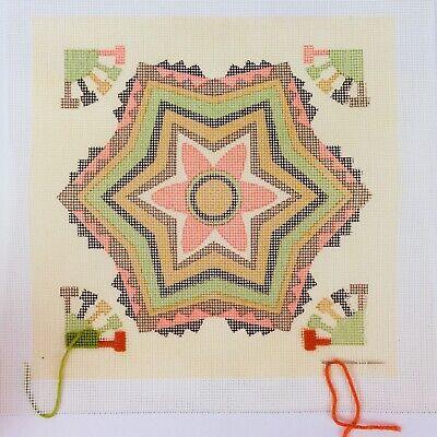 Star Flower #902  NEEDLEPOINT BEA COLE MUSEUM SERIES GUATEMALAN TEXTILE Kit ()