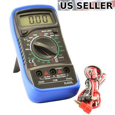 Digital Multimeter AC DC Voltmeter Ammeter Ohmmeter Volt Tester Meter - Dc Multimeter