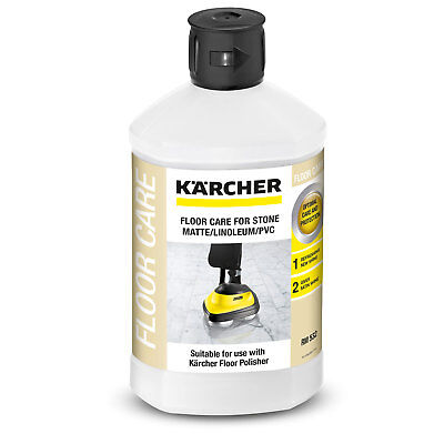 Karcher FLOOR CLEANER FOR MATT STONE/LINOLEUM/PVC 1L Optimal Care & Protection