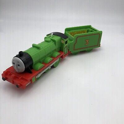 Hit Toy Trackmaster Motorized Thomas Tank Train Engine Henry No Battery Cover