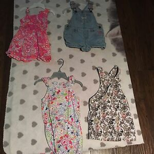 Summer lot of toddler girl clothes 2t to 3t