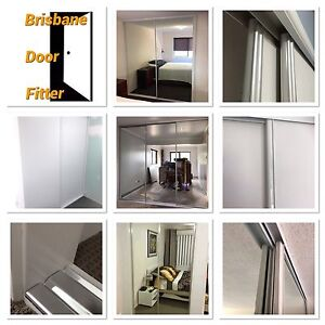 Full set. Made to Measure sliding wardrobe mirror or white vinyl doors Mango Hill Pine Rivers Area Preview
