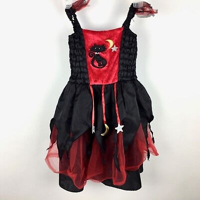 Toys R Us Childrens Halloween Costumes (Dress-up Costume Red Witch Toys R US Girls 3-4 Ht. 41