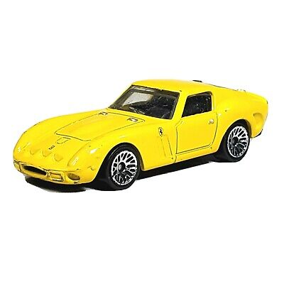 HOT WHEELS Ferrari 250 GTO Yellow Car New Models 2009 Malaysia Loose