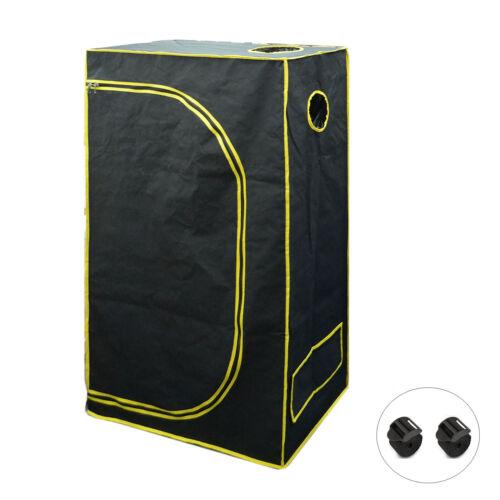 Growbox  90x50x160cm Gewächshaus Growzelt Growschrank Grow Tent Zuchtschrank NDL