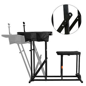 Shooting Chair Table Bench Field Range Rifle Gun Rest Pad Seat Fold Hunt Stand