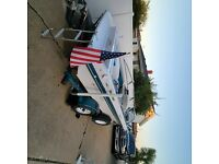 1992 Four Winns 18' boat and trailer