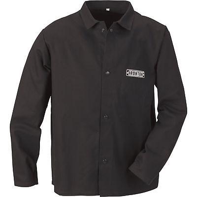 Ironton Flame-resistant Welding Jacket - Medium Black