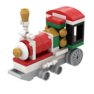 Christmas Train Locomotive Building Toys Sets & Packs 58 Pieces for Decoration