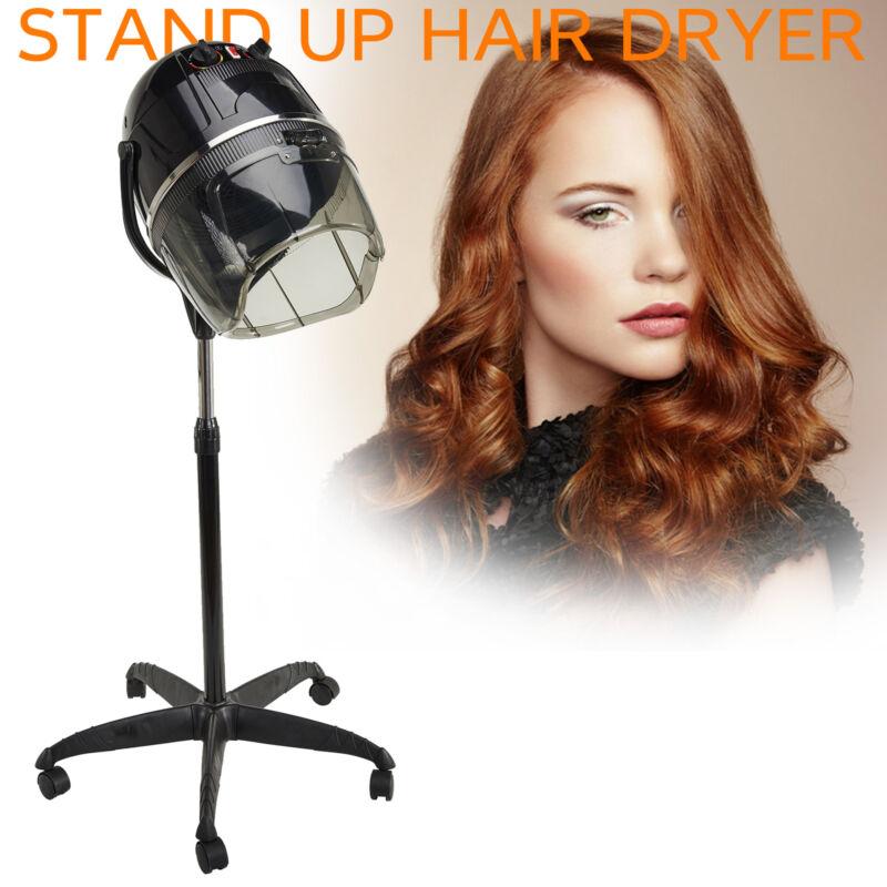 standing up hair dryer timer swivel hood
