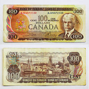 Canadian 100 Dollar Bill