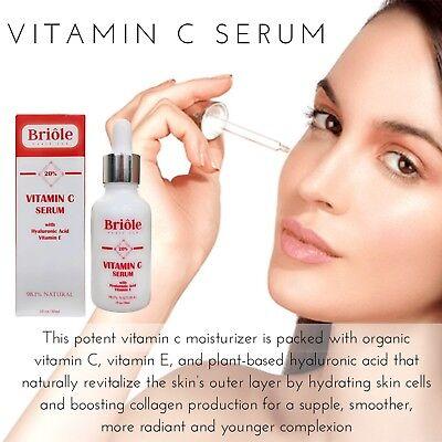 Hyaluronic Acid Anti-Ageing & Wrinkles Vitamin C+E Serum Best for Face Skin
