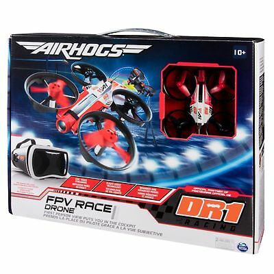 AIR HOGS FPV Race Drone DR1 Racing Playset & Headset *** NEW *** Spin Master