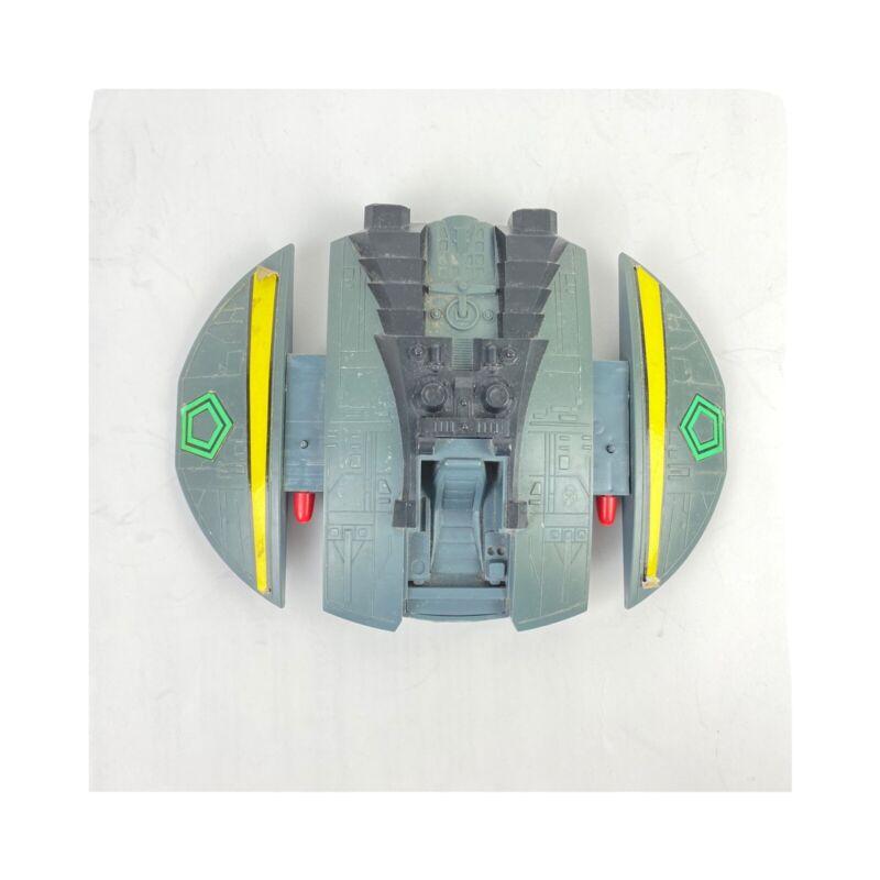 Battlestar Galactica Cylon Raider Firing Missiles Mattel 1978 with missiles