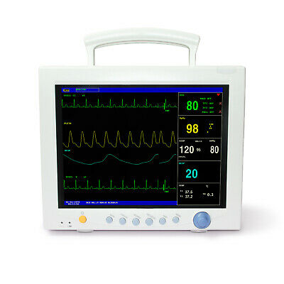 Ce Contec Cms7000 Icu Ccu Vital Signs Patient Monitor 6 Parameter Optional Co2