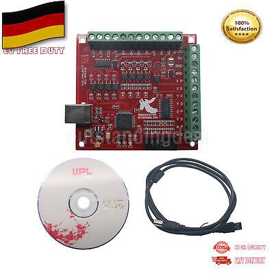 MACH3 4 Axis 100Khz CNC USB Breakout Board Interface Driver Motion Controller DE Axis Motion Controller