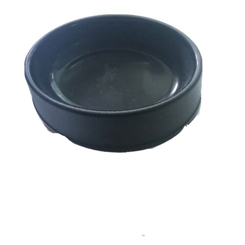Boots & Barkley Small Black Pet Food Bowl 3/4 Cup Oval