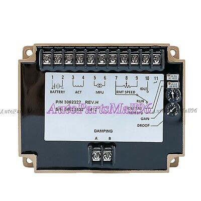 3062322 New Engine Speed Controller Unit Speed Governor For Genset Parts