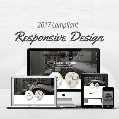 2017 Compliant Responsive Ebay Auction Listing Template Bathroom  Design