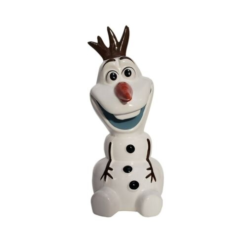 "Disney Frozen Olaf 7"" Ceramic Piggy Bank - Small"