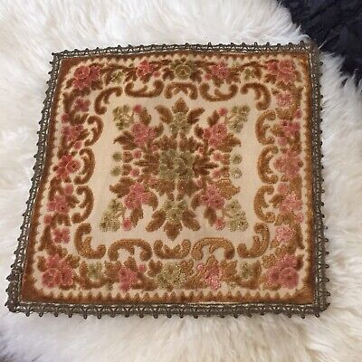 Vintage Tapestry 13 Inches Square