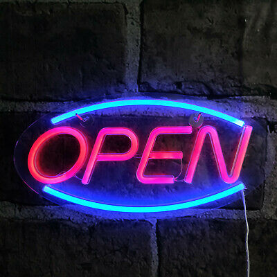 Ultra Bright Open Business Sign Store Led Neon Light Usb