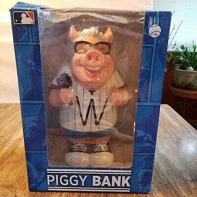 Harry Caray Likeness Pig Piggy Bank Chicago Cubs Caricature Piggy Bank NEW - Chicago Cubs Piggy Bank
