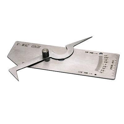 Hfsr Inch V-wac Single Weld Gauge Gage Fit Welding Inspection With Pocket