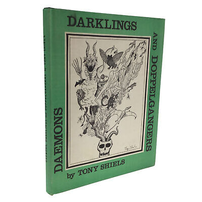 1st Ed Daemons Darklings and Doppelgangers by Tony Shiels SUPERNATURAL MAGIC