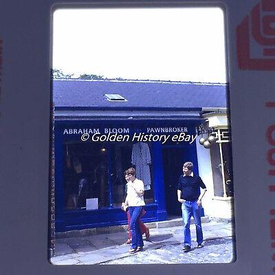 RARE ABRAHAM BLOOM PAWNBROKER SHOP  35mm SLIDE PHOTO PICTURE VINTAGE PHOTOGRAPH