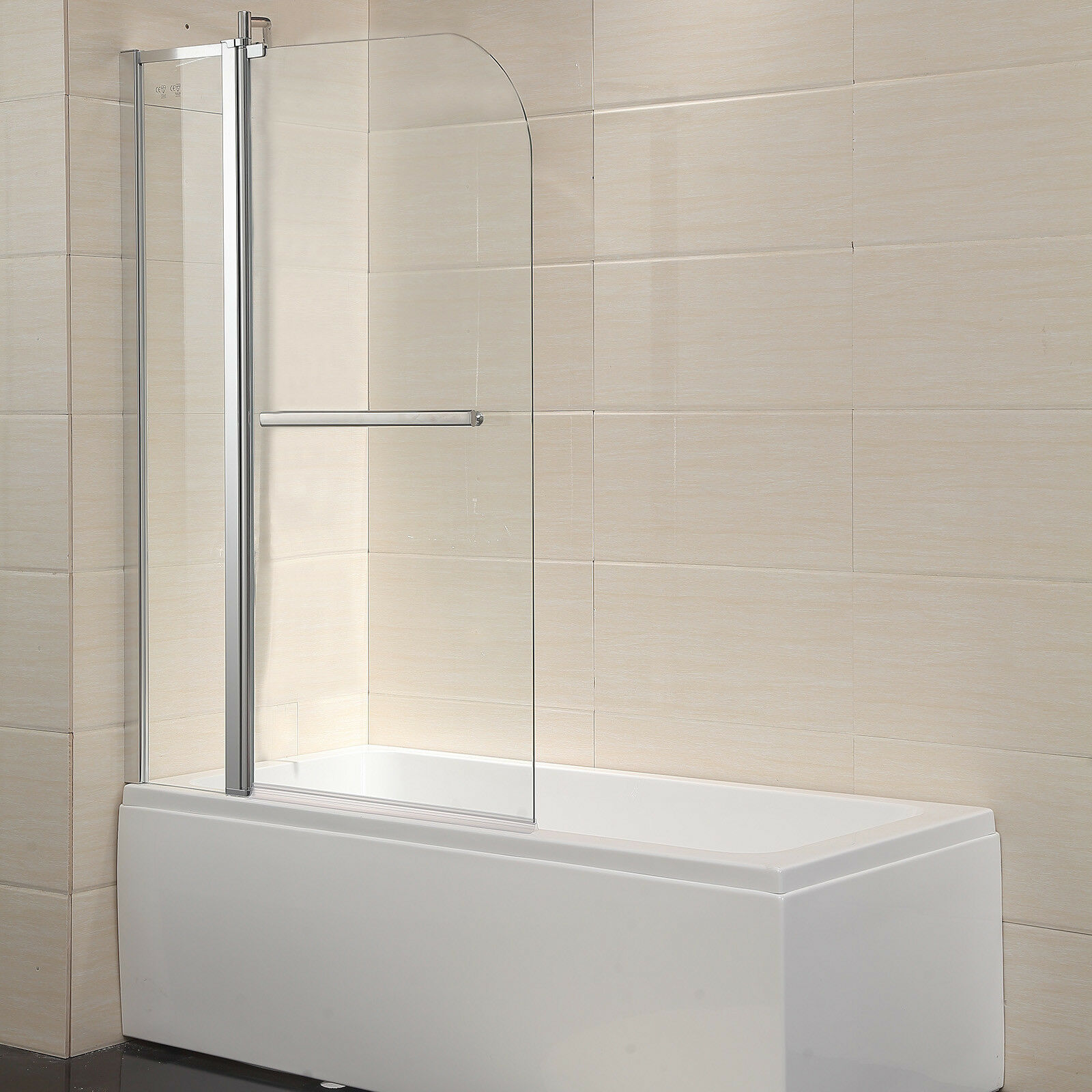 Modern 55 X39 Bath Tub Shower Door 1 4