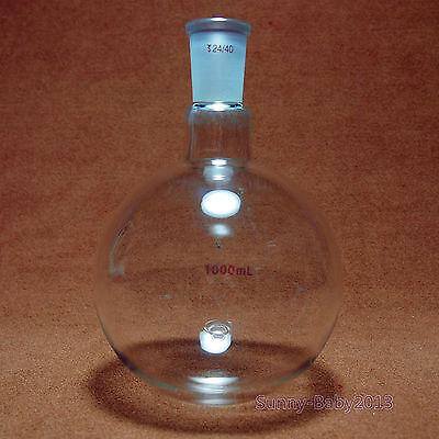 1000ml24401-neckround Bottom Glass Flask1lsingle Necklab Chemistry Bottle