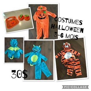 Costumes d'Halloween 3-6 mois