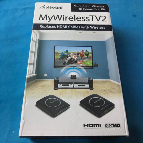 Actiontec MyWirelessTV2 Wireless Video Transmitter and Receiver Black MWTV2KIT01