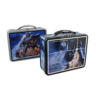 Vintage Star Wars Collectables ~ LUNCH BOX / SANDWICH TINS ~ 5 Different