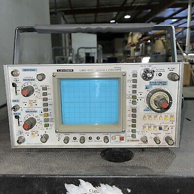 Leader Lbo-517 Oscilloscope