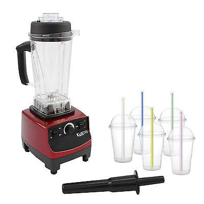 Commercial Food Blender Heavy Duty Mixer Milkshake Smoothie Soup Maker Juicer