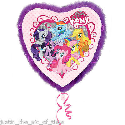 MY LITTLE PONY Birthday Party Helium Heart FOIL Giant 32