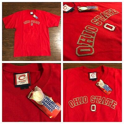 Brand New- Ohio State Buckeyes Cadre T Shirt Mens Size Large L Embroidered Ohio Embroidered T-shirt