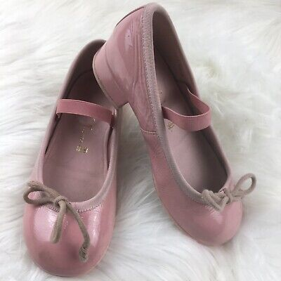 Pretty ballerinas pink Heel Bow girls shoes made in Spane size 28