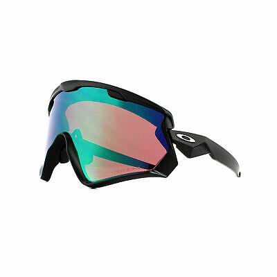 Oakley Ski Goggles Wind Jacket 2.0 OO9418-01 Matte Black Prizm Jade Iridium